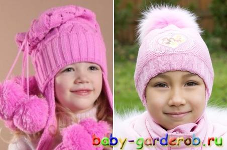 шапочка с большим помпоном крючком - Выкройки одежды для детей и взрослых.